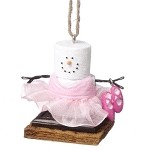 S'more Ballerina Ornament