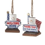 S'more Military Pride Ornaments