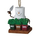 S'more Herb Gardener Ornament