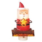 S'more Santa Night Light