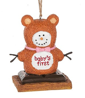 S'more Baby's 1st Bear Ornament