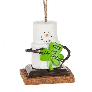 S'more Kiss Me I'm Irish Ornament