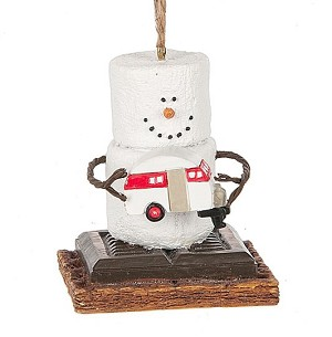 S'more Camper Ornament