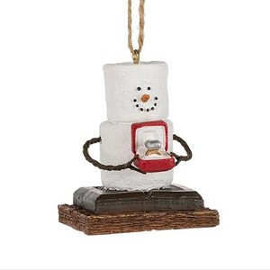 S'more Engagement Ring Ornament