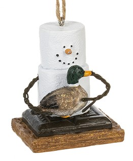 S'more ~ Duck Ornament ~ Damaged Tag