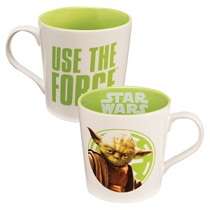 Yoda Use the Force 12 oz Mug