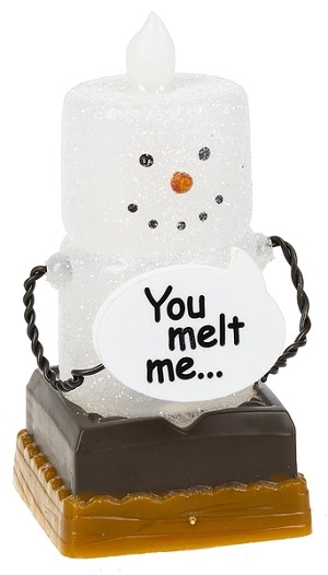 S'more Mini Shimmer You Melt Me LED Light
