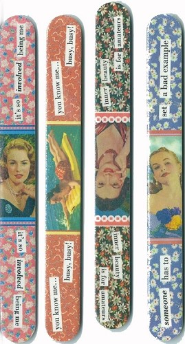 Miss Taintor Nail Files