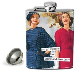 Drunk and Disorderly Flask