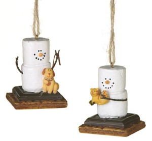 S'more with Furry Friends Ornament