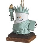 S'more Lady Liberty Ornament