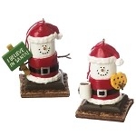 S'more Santa Ornaments