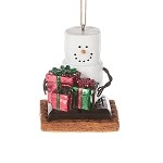 S'more Holding Presents Ornament