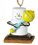 S'more Baby's 1st Christmas Rattle Ornament