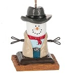 S'more ~ Cowboy Ornament ~ Damaged Tag