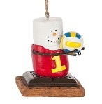S'more Volleyball Player Ornament