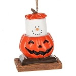 S'more ~ Jack O' Lantern Ornament ~ Damaged Tag