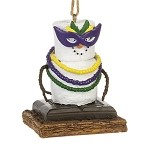 S'more Mardi Gras Ornament