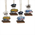 S'more ~ Military Ornaments ~ Damaged Tag