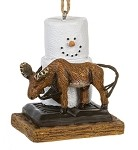 S'more ~ Moose Ornament ~ Damaged Tag