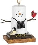 S'more Birdwatcher Ornament