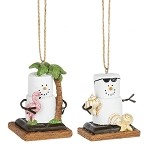 S'more Coastal Ornaments