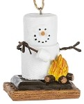 S'more Roasting Marshmallow Ornament