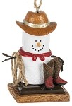 S'more Cowboy Ornament 2020
