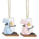 S'more Baby Blanket Ornaments