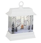 S'more Rectangular LED Shimmer Lantern Campfire Large