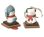 S'more Winter Sports Ornaments