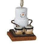 S'more with Bongos Ornament