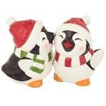 Penguin Salt & Pepper Shaker Set
