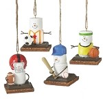 S'more Team Sports Ornaments