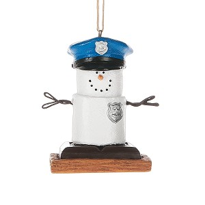 S'more Policeman Ornament