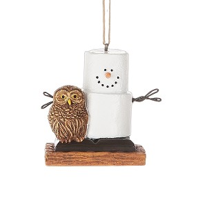 S'more with Owl Ornament
