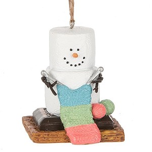 S'more Knitting Ornament