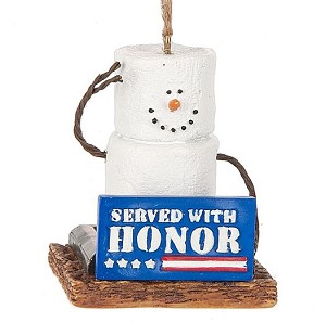 S'more Served with Honor Ornament