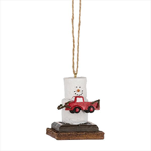 S'more Pick Up Truck Ornament