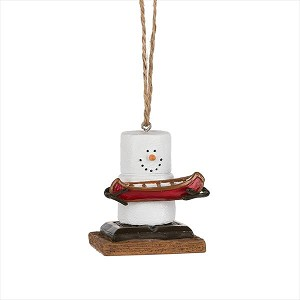 S'more Canoe Ornament