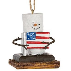 S'more Flag Ornament