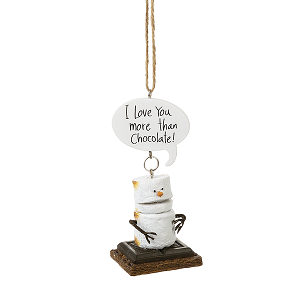 S'more Toasted Love You More Ornament