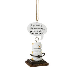 S'more Toasted We Go Together Ornament