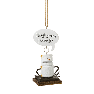 S'more Toasted Naughty Ornament