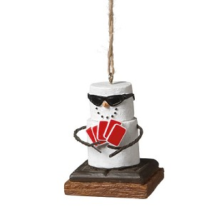 S'more Poker Player Ornament 2012