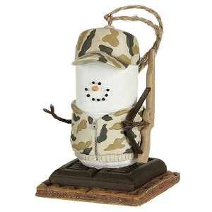 S'more Camo Hunter Ornament