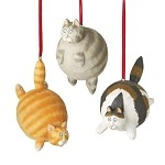 Fat Cat Ornaments