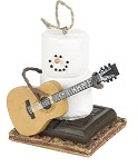 S'more with Guitar Ornament