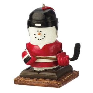 S'more Hockey Player Ornament