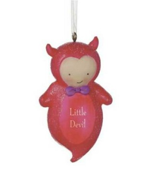 Little Devil Special Delivery Ornament